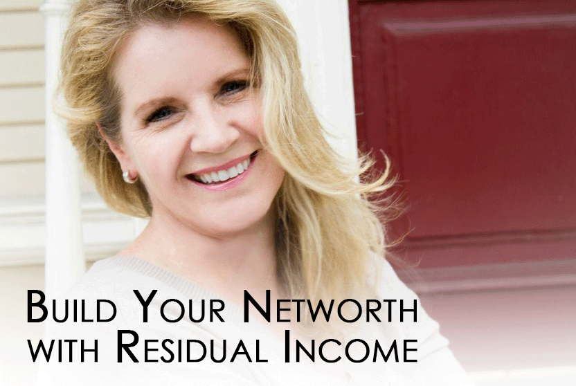Learn how to build your networth with residual income